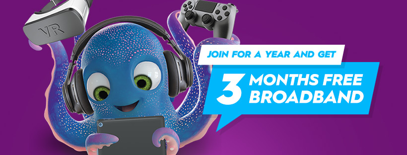 Stuff Fibre 3 months Free - Exclusive on Broadband Compare
