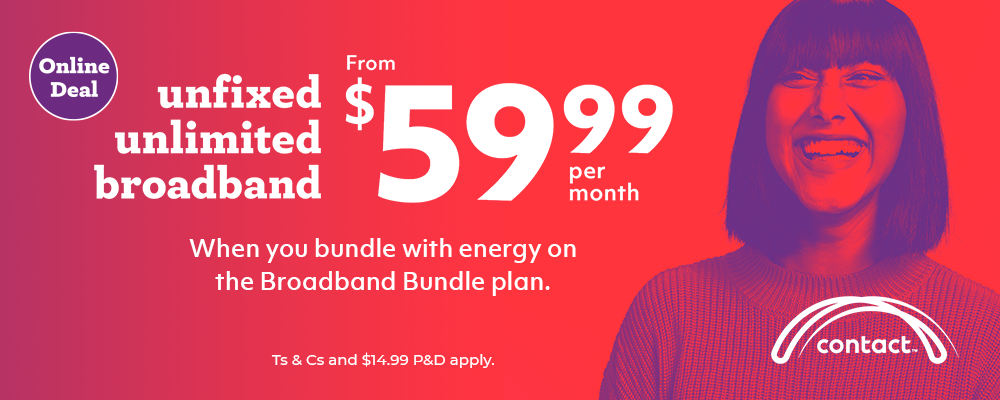 Contact Broadband Bundle Offer
