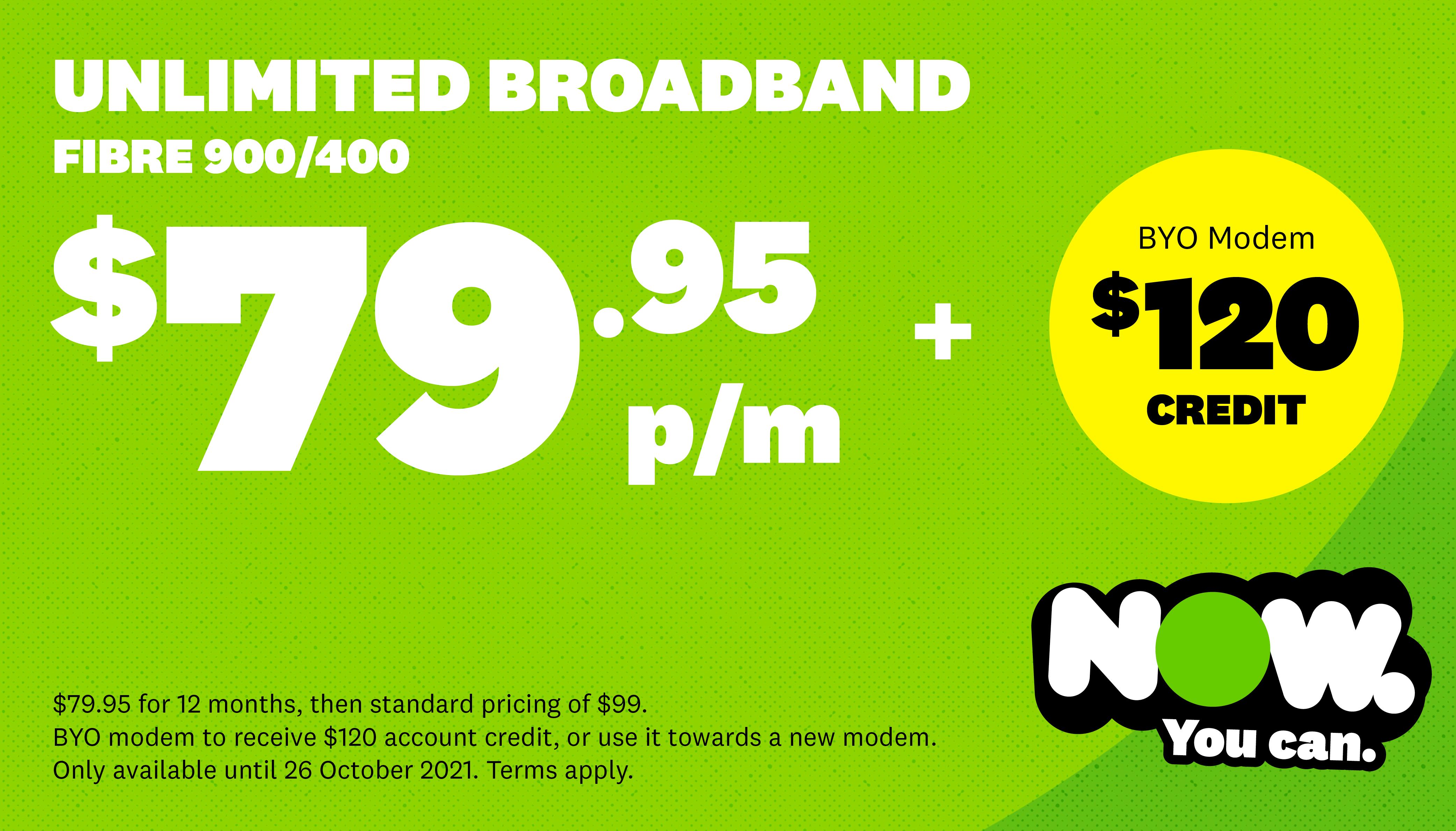 NOW Broadband - Exclusive Gigabit Offer
