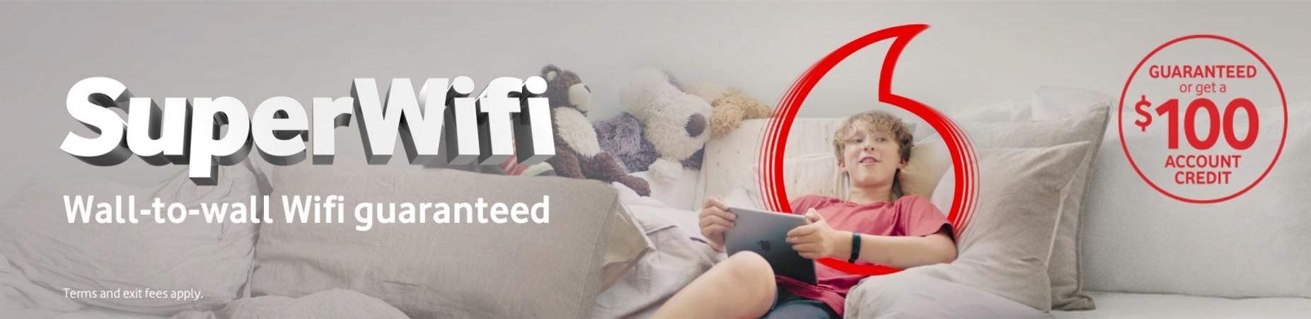 Vodafone SuperWifi Offer