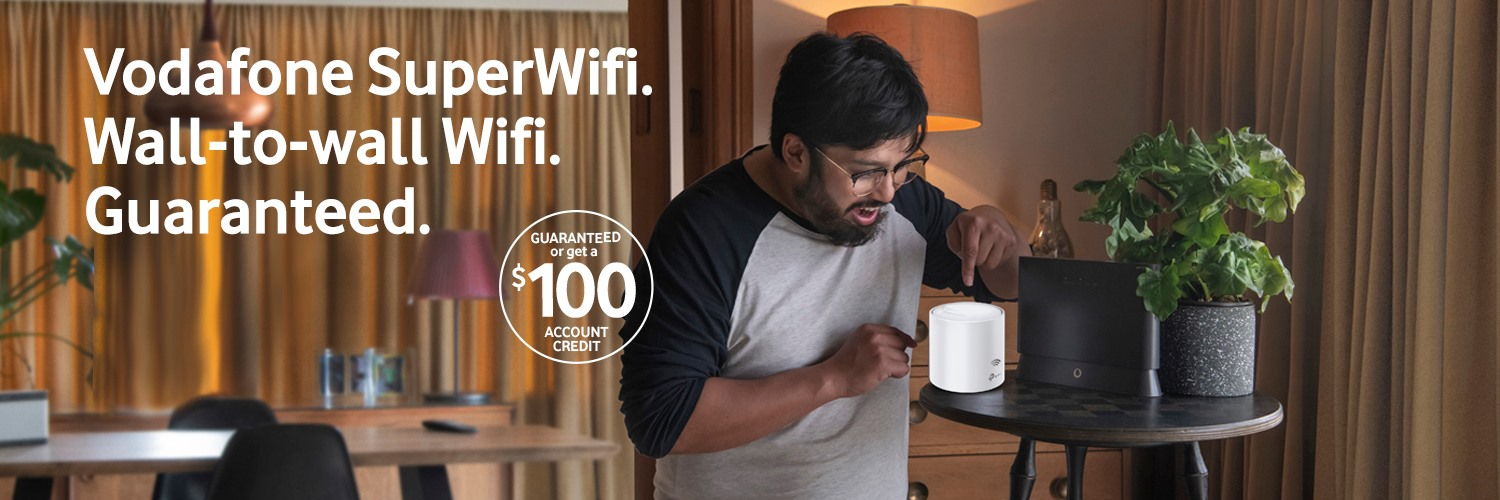 Vodafone SuperWifi Offer