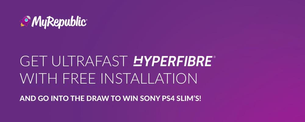 MyRepublic - HyperFibre Exclusive Offer