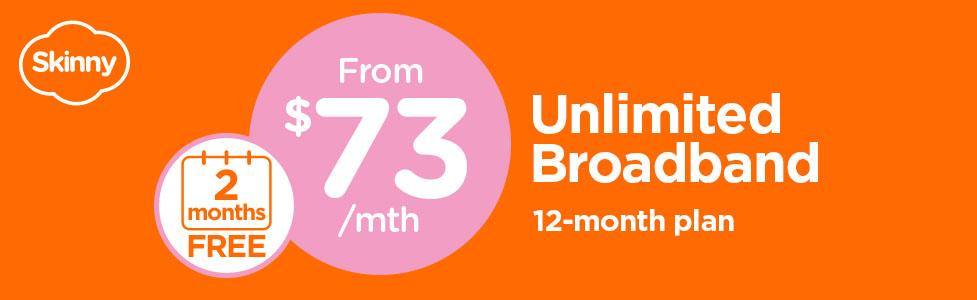 SKinny Broadband - 2 months free deal