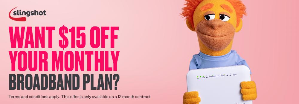 Slingshot Broadband Discount
