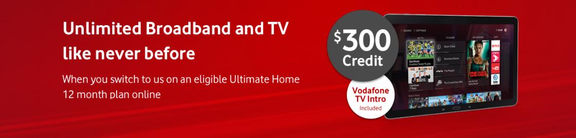 Vodafone Broadband Credit Deal
