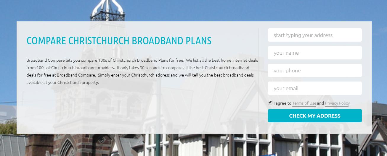 Compare Internet Providers in Christchurch