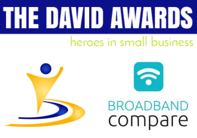 Broadband Compare named as a finalist of The David Awards
