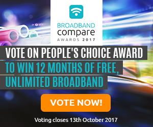 Win 12 months of FREE, unlimited broadband