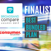 Best Bundled Plan Broadband Compare Awards 2017 - Finalists
