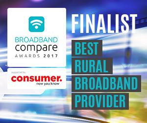 Best Rural Broadband Provider Broadband Compare Awards 2017 - Finalists