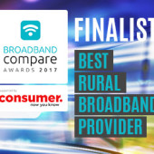 Best Rural Broadband Provider Broadband Compare Awards 2017 - Finalists