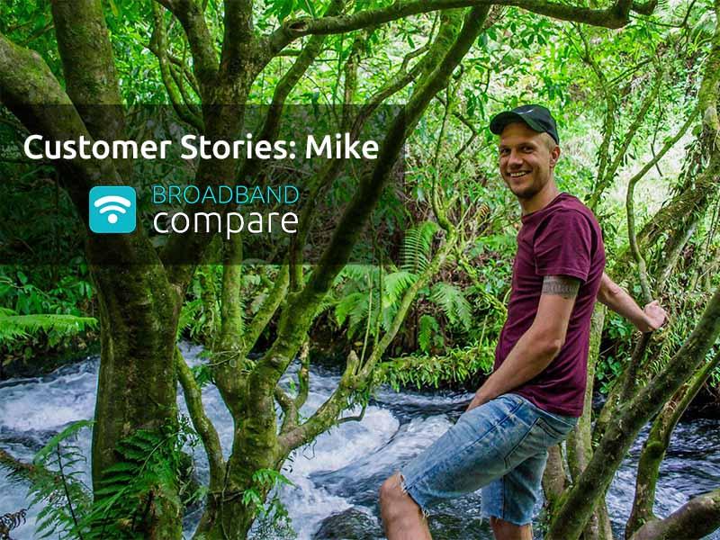 Customer Stories: Mike on Stuff Fibre broadband installation