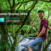 Customer Stories: Mike on Stuff Fibre broadband installation