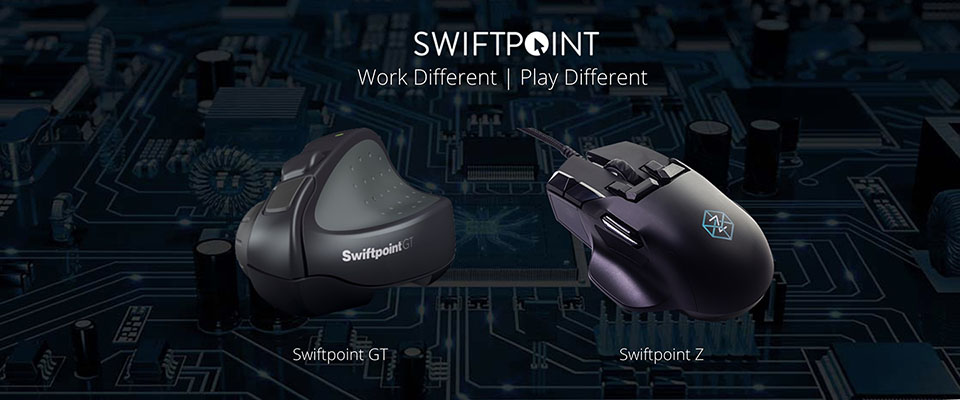 Work and Play Different with Swiftpoint Computer Mice