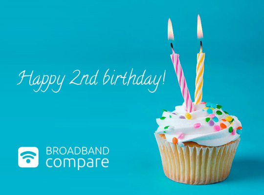 Happy 2nd Birthday Broadband Compare