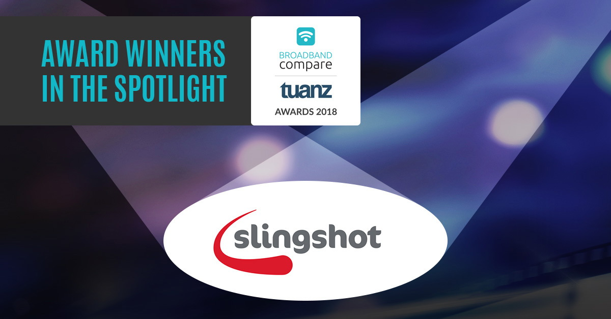 Slingshot Broadband - Award Winner