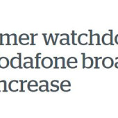 Vodafone price increase – customers can switch to a better deal with no cancellation penalty
