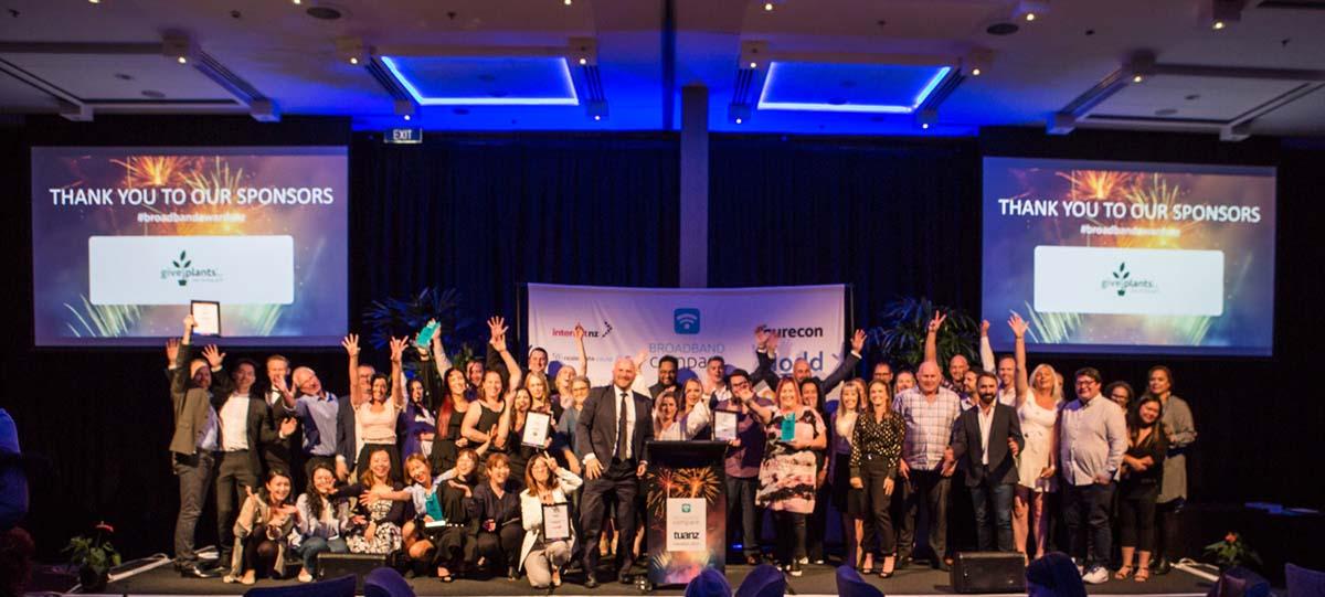 Broadband Compare Awards celebration