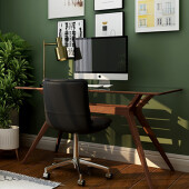 beautifully organised home office
