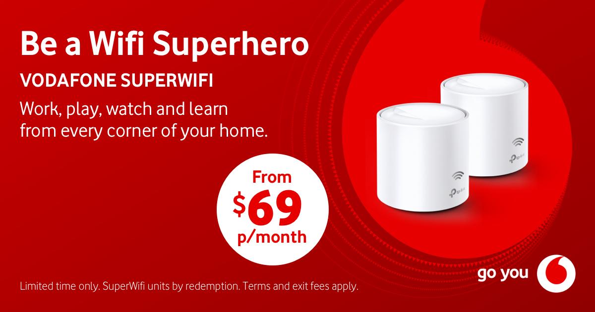 Vodafone SuperWifi – Be a Wifi Superhero!